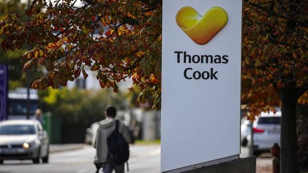 Der Zerfall von Thomas Cook belastet die Politik