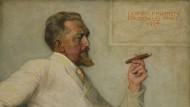Institutsleiter: Leo Frobenius im Jahr 1924, gemalt von seinem Bruder Hermann Frobenius