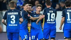 Hoffenheim hält Kurs auf Champions-League