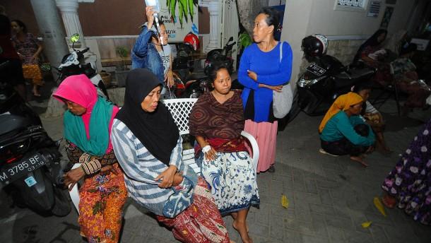 Mehrere Tote bei neuem Erdbeben