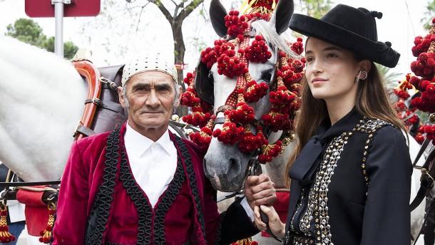 Models zwischen Flamenco und Stierkampfarena