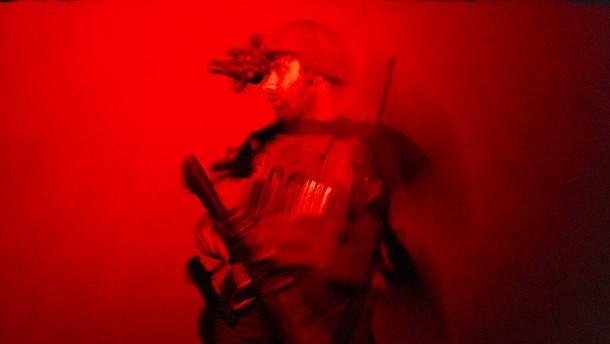 Afghanische Spezialeinheit auf Patrouille