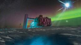 Durchbruch in der kosmischen Neutrinoforschung