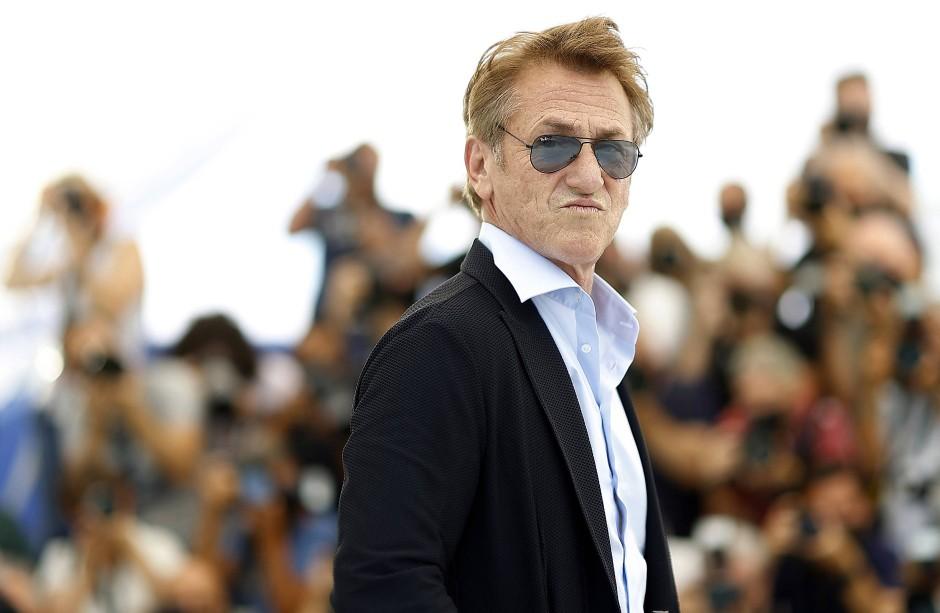 Sean Penn in Cannes