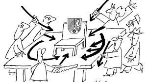 Parteifeinde und ihr Landesseelsorger