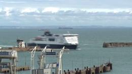 Britische Hafenstädte fürchten Chaos