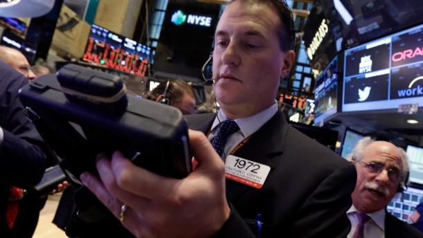 Die Börse hat Angst vor guter Konjunktur