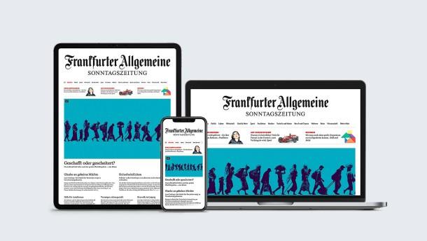 Die Sonntagszeitung wird multimedial