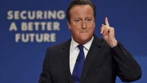 Cameron will Zuwanderung aus EU-Staaten begrenzen