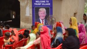 """Indisches Dorf ändert seinen Namen in """"Trump Village"""""""