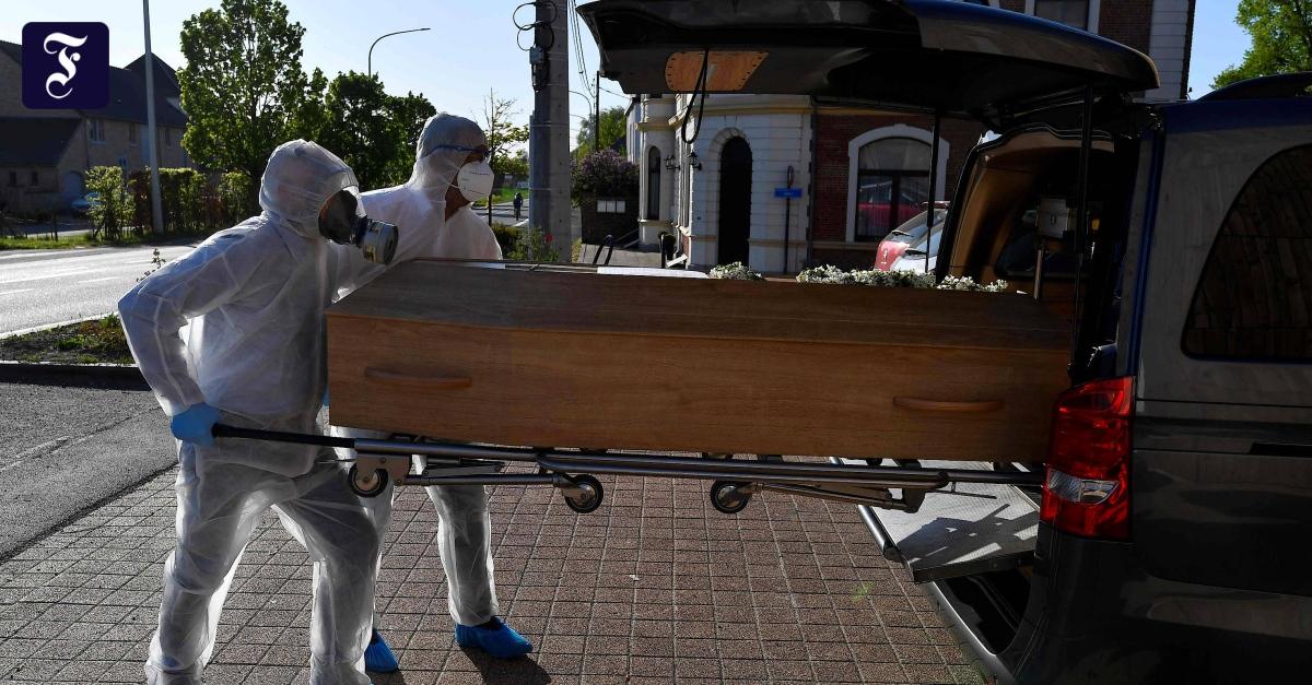 Mehr als 10.000 Corona-Tote in Belgien