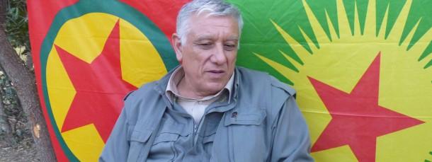 Fordernd: PKK-Führer Cemil Bayik
