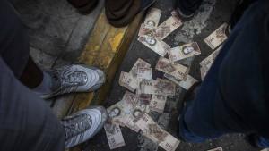 Inflation in Venezuela steigt über 130.000 Prozent