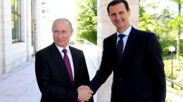 Putin lobt Assads Erfolge in Syrien