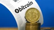 Kämpft mit traditionellen Problemen: die virtuelle Währung Bitcoin