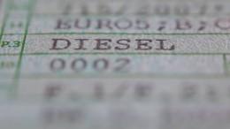 Autobranche bremst Diesel-Konzept der Regierung aus
