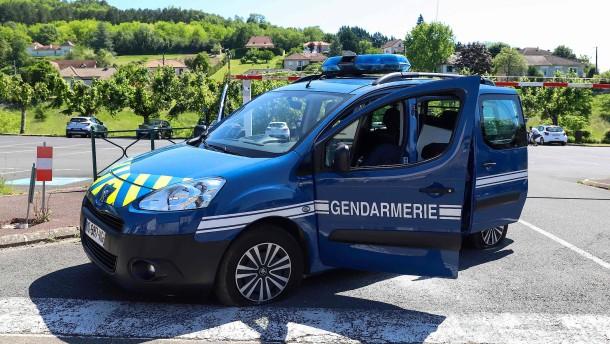 Bewaffneter Mann in Frankreich gefasst