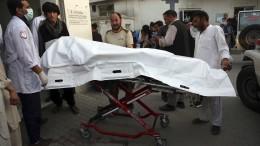 Viele Tote in Afghanistan