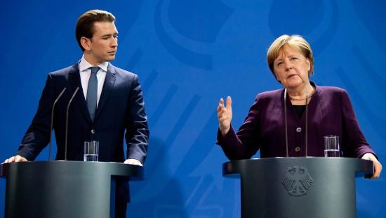 Merkel sieht Distanz der CDU zu Grünen schwinden