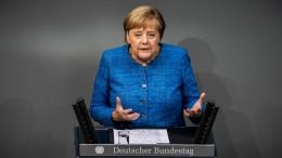 """Merkel fordert """"Kraftakt"""" für den Klimaschutz"""