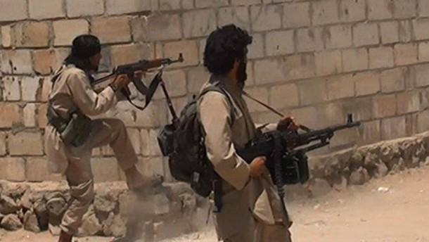 IS sichert sich offenbar wichtigen Nachschubweg