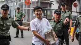 Demokratie-Aktivist Joshua Wong ist frei