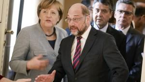 CDU: Wut – SPD: Streit