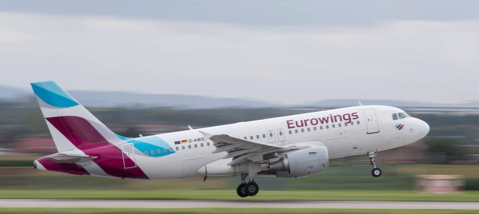 Verdi Ruft Zu Warnstreik Bei Eurowings In Dusseldorf Auf