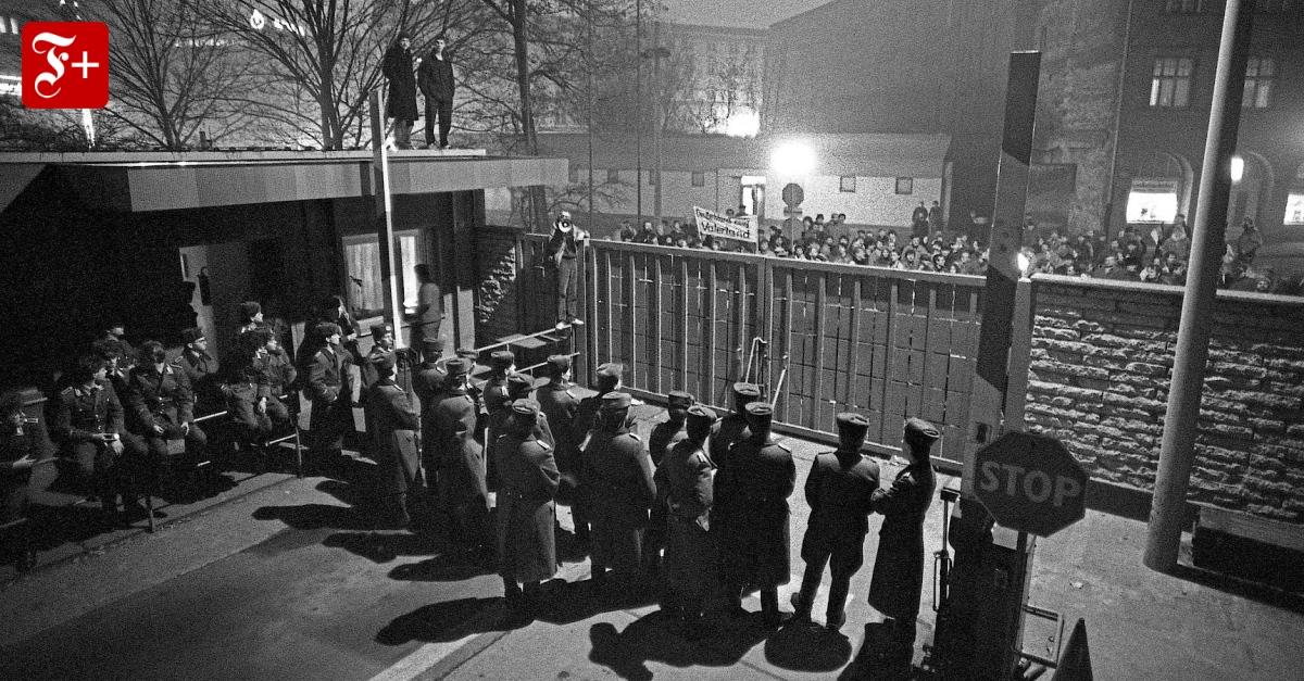 Wer wacht über die Revolution von 1989? - FAZ - Frankfurter Allgemeine Zeitung