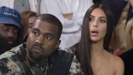 Großer Schreck für Kim Kardashian und ihren Mann Kanye West.