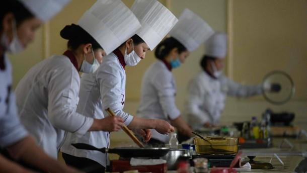 Kochen für den Ex-Staatschef