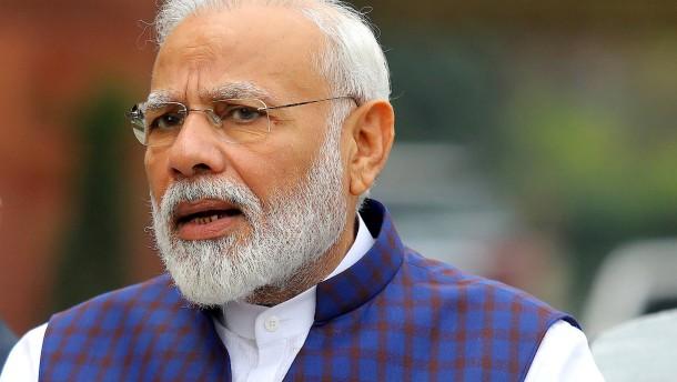 Indien nimmt Einladung an