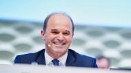 Martin Brudermüller, Vorsitzender des Vorstands des Chemiekonzerns BASF, bei der Hauptversammlung des Chemiekonzerns im Mai in Mannheim
