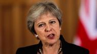 Theresa Mays Pläne für ein EU-Abkommen werden wohl nicht von der Labour Partei unterstützt werden.