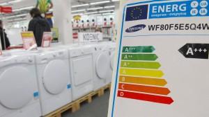 CSU will Kauf energiesparender Haushaltsgeräte fördern