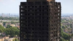 Kühlschrank verursachte Londoner Hochhausbrand
