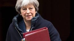 """""""Großbritannien ist bereit zu drastischen Maßnahmen"""""""