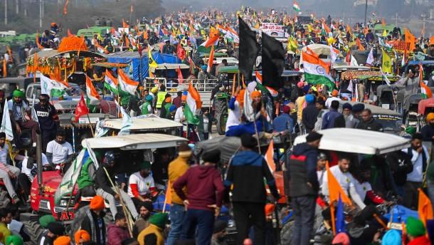 Der große Marsch auf Delhi
