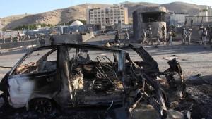 Tote bei Angriff auf amerikanisches Konsulat