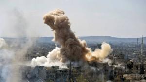 Mindestens 17 tote Zivilisten bei Angriffen nahe Damaskus