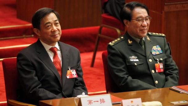 Xu Caihou, Bo Xilai