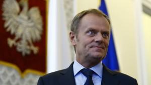 Großbritannien für Tusk als neuen Ratspräsidenten