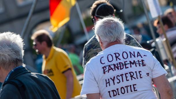 Proteste gegen Corona-Maßnahmen in mehreren deutschen Städten