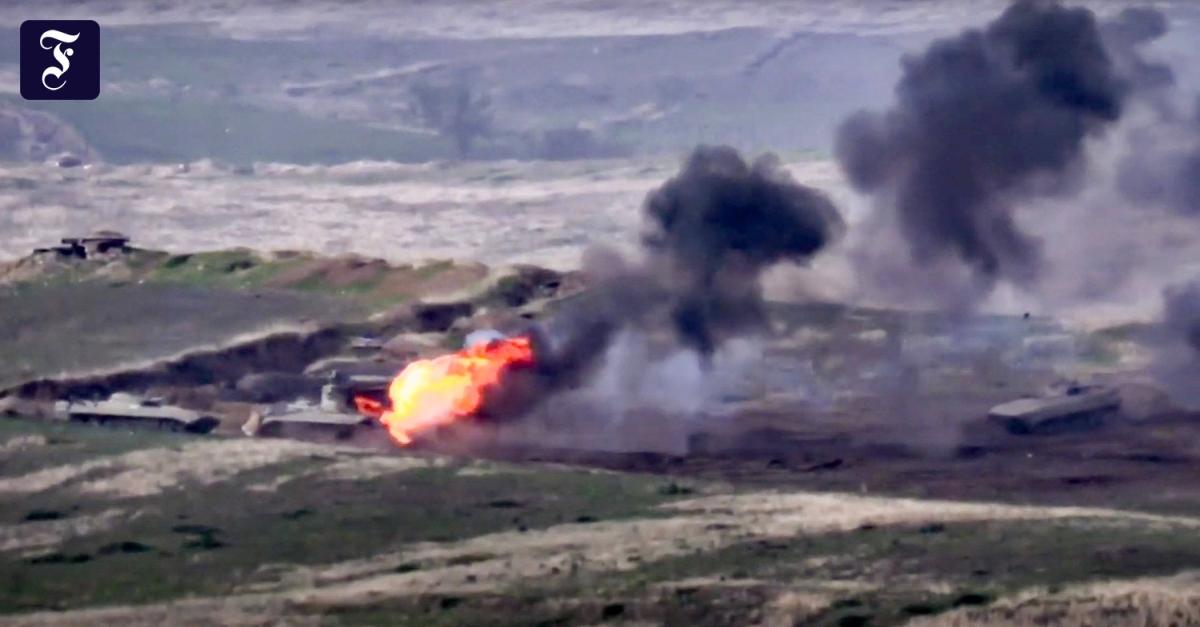 Kämpfe in Nagornyj Karabach: Armenien und Aserbaidschan im Kriegszustand
