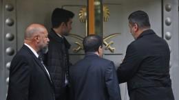 Türkische und saudische Ermittler durchsuchen Istanbuler Konsulat