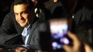 Syriza-Chef Alexis Tsipras trat im Wahlkampf 2015 deutlich gemäßigter auf als noch vor Jahren