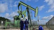 Eine Ölpumpe 50 Kilometer von Paris entfernt – die Suche nach dem Rohstoff will der französische Umweltminister beenden.