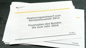 Der verhinderte Haushaltsausgleich