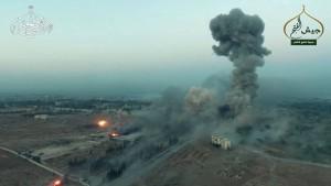Syrische Rebellen verkünden Durchbruch