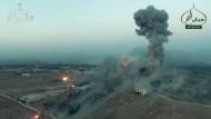 Der Kampf um Aleppo – in einem Video, das die Fateh-al-Sham-Front verbreitet hat.